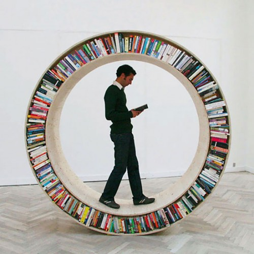 desire circle bookcases bookcase for intended semi bookshelfvia circular bookshelf