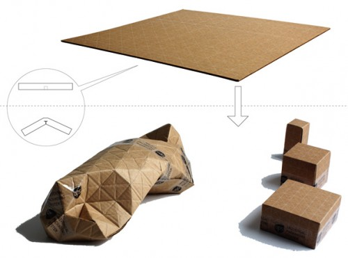 cardboard package design