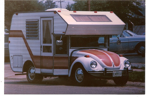 In The 60s And 70s Various Recreational Vehicle Manufacturers Mounted Small Motorhomes On Volkswagen Beetle Chassis It Was Called Bugaroo Or