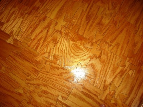 jigsaw puzzle wooden floor neatorama