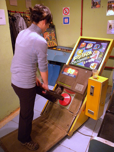 A Visit To The Museum Of Soviet Arcade Games Neatorama