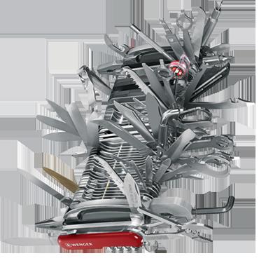Giant Swiss Army Knife Neatorama