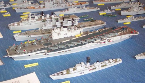 Man Builds Matchstick Models Of Every Ship In The Royal