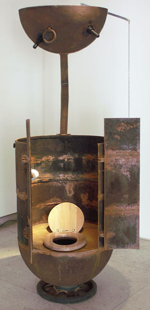 Estonian Sculptor Mati Karmin Makes Furniture From Old Naval Mines Found  Off The Coast Of His Homeland: Nice Look
