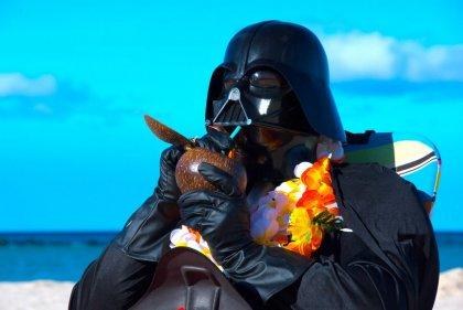 Darth Vader S Hawaiian Vacation Neatorama