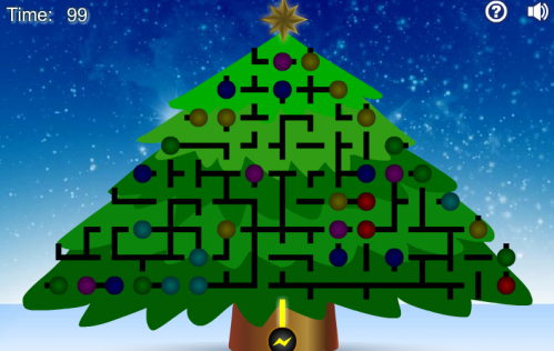 Light Up The Christmas Tree Game - Neatorama