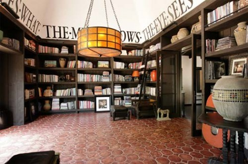 Celebrity Home Libraries Neatorama