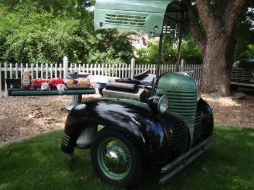 Grill Made From A 1939 Dodge Pickup Neatorama