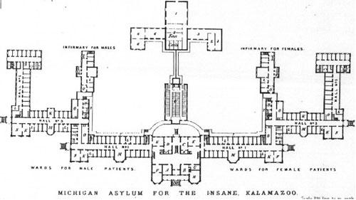 Kirkbride Asylum Plans Neatorama