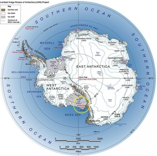 East of the South Pole  Neatorama