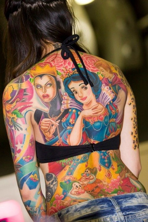 Snow White Disney Tattoos