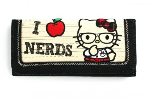 Hello Kitty I Heart Nerds Clutch 654014f5dfe7c