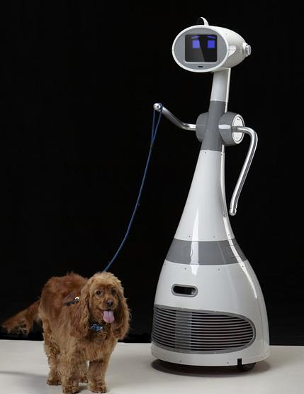 robot luna robots personal domestic dog walking future robotics pets brings present maid changer 3k game past neatorama companion household
