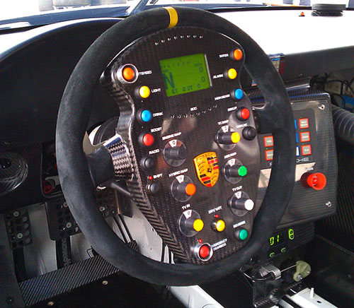 Porsche 911 Gt3 Hybrid Racer Has The Most Complex Steering