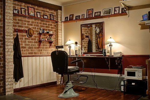 Turn Your Garage Into A Barbershop Neatorama