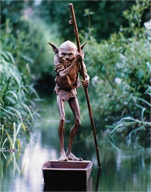 Tolkien Inspired Bronze Sculptures Neatorama