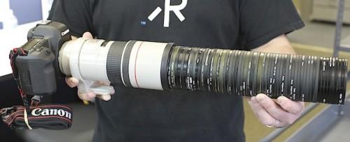 50 UV Filters Mounted on a Camera - Neatorama