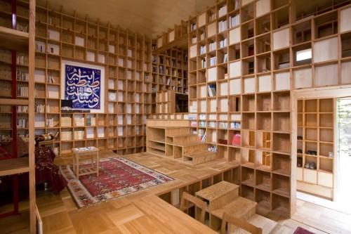 House Full Of Bookshelves Neatorama