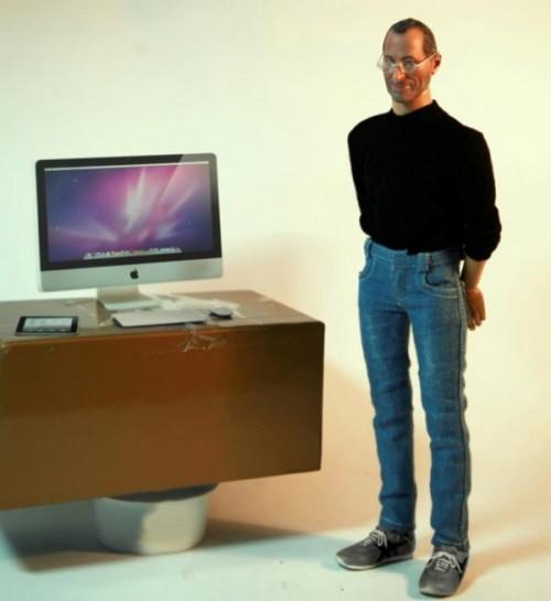 Steve Jobs Action Figure Neatorama