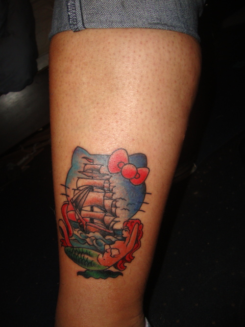 Most Expensive Beer In The World >> Hello Kitty Nautical Tattoo - Neatorama