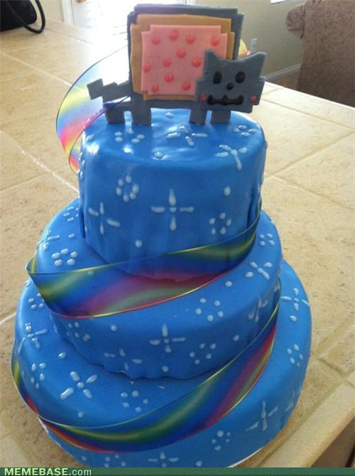 Nyan Cat Cake Neatorama