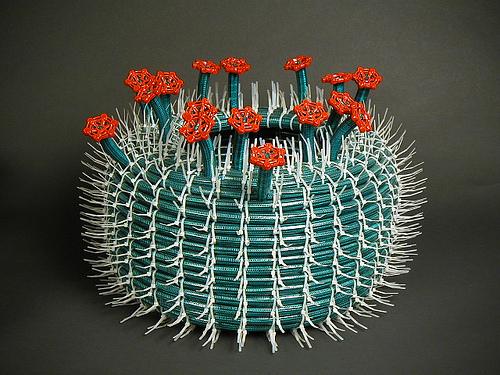Zip Tie Cactus Sculpture Neatorama