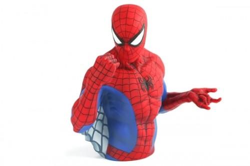 Superhero Bust Banks Neatorama