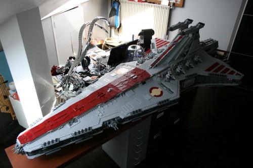43,000-piece lego star destroyer - neatorama