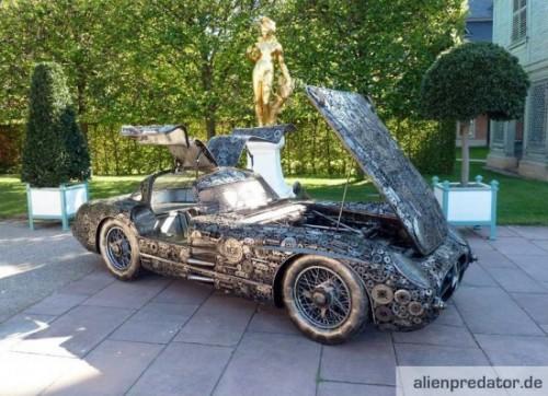 Scrap metal mercedes neatorama for Mercedes benz scrap yard