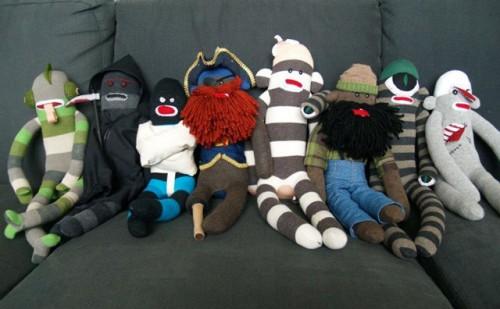 Adorable Amp Spooky Sock Monkeys Neatorama