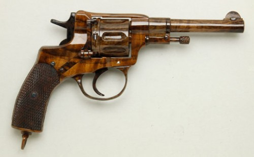 Beautiful Wooden Revolver Model Neatorama