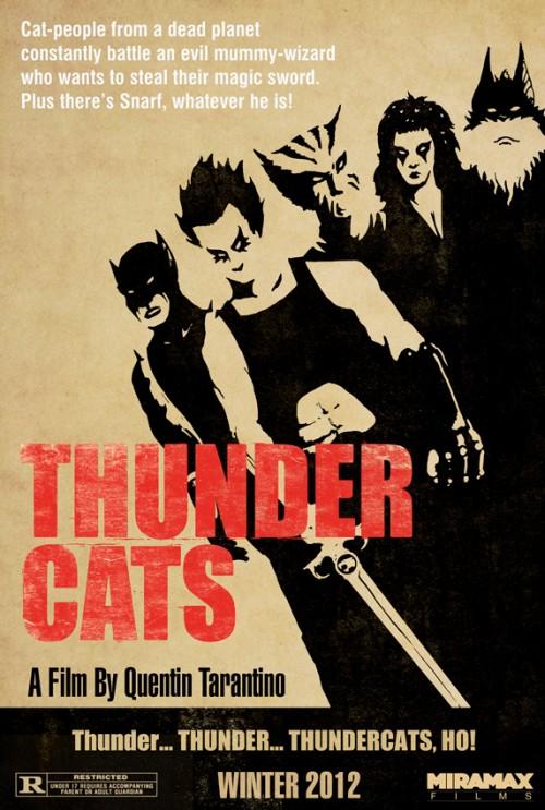 quentin tarantino u0026 39 s thundercats
