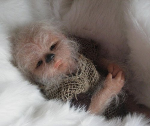Baby Wookiee Is Adorable And Creepy Neatorama