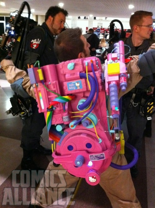 Hello Kitty Ghostbusters Proton Pack Neatorama