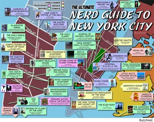 A Nerds Guide To New York City Neatorama