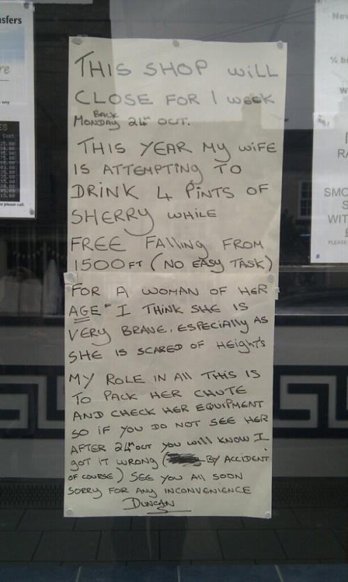 Strange Shop Sign - Ne...