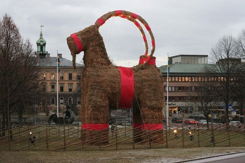 The Swedish Christmas Straw Goat Neatorama