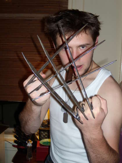 how to make wolverine claws videos