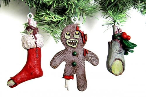 Zombie Christmas Ornaments - Neatorama