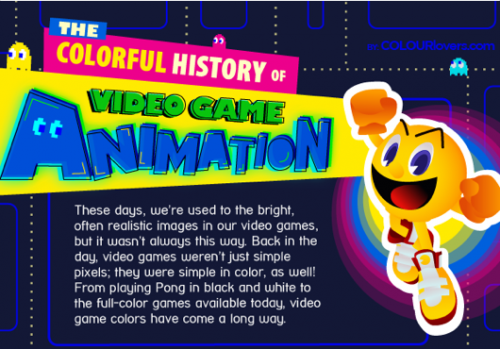 Infographic Ideas infographic video games : The Colorful History Of Video Games - Neatorama