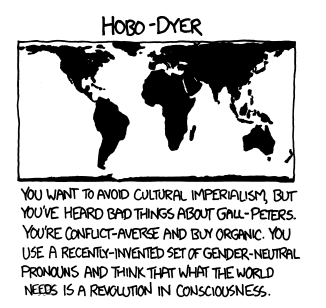 What your favorite map projection says about you neatorama randall munroe of xkcd gumiabroncs Image collections