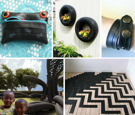 25 Cool Items Made From Recycled Tires Neatorama