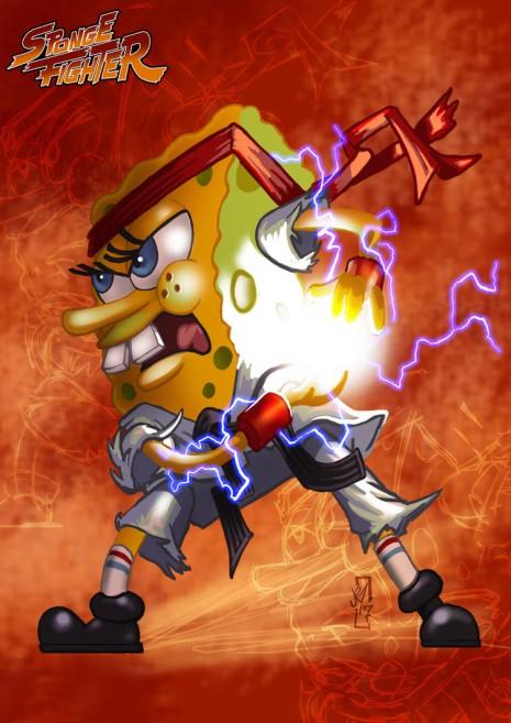 Spongebob Street Fighter Neatorama
