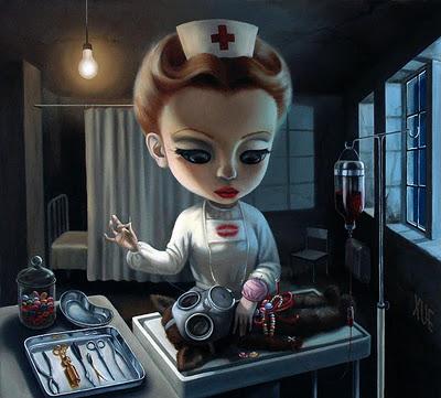 Cute Creepy Cartoons The Creepy Cute Paintings of
