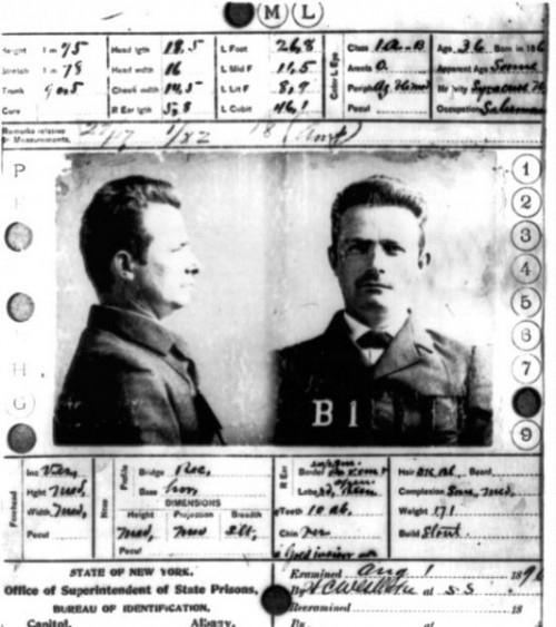 alphone bertillons system essay A composite of mug shots, bertillon measurements and fingerprints of will west and william west, an infamous case that showed the importance of a fingerprint system over the bertillon system, 1901-1904.