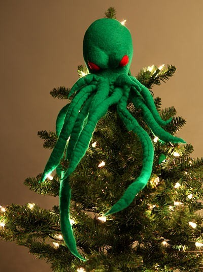 Cthulhu Tree Topper Neatorama