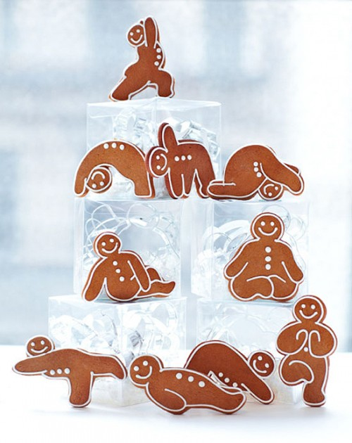 Gingerbread Yogis