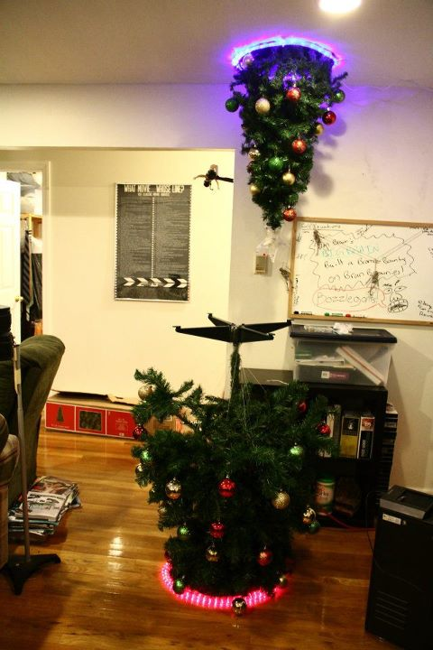 Where To Put The Christmas Tree portal christmas tree - neatorama