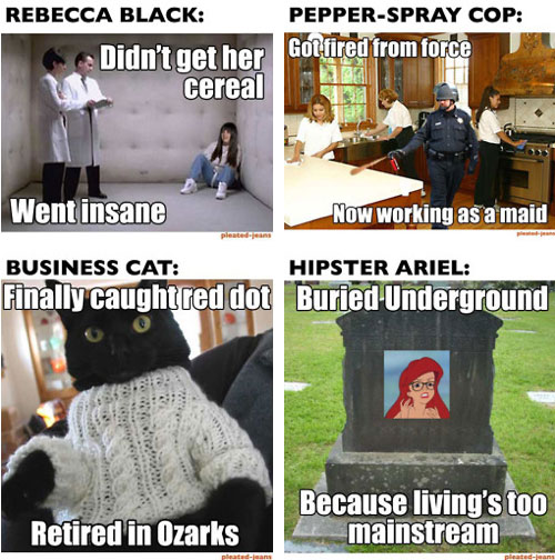 memes the memes of 2011 where are they now? neatorama
