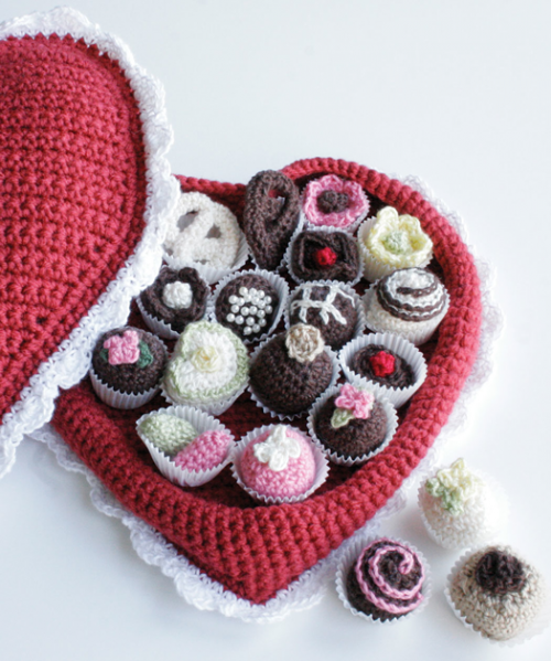 Crochet Chocolates For Valentines Day - Neatorama
